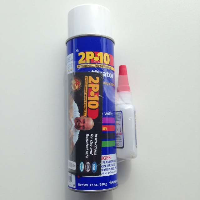 2 oz 2P 10 adhesive kit with activator