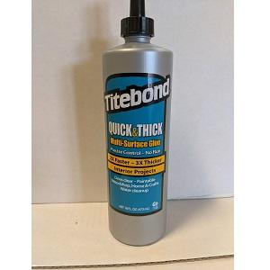 16 oz titebond wood molding quick & thickglue 2404