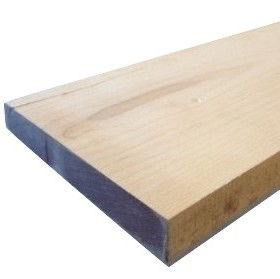 Maple Sanded Two Sides (S2S) Straight Line Ripped (SLR1)per Board Ft.