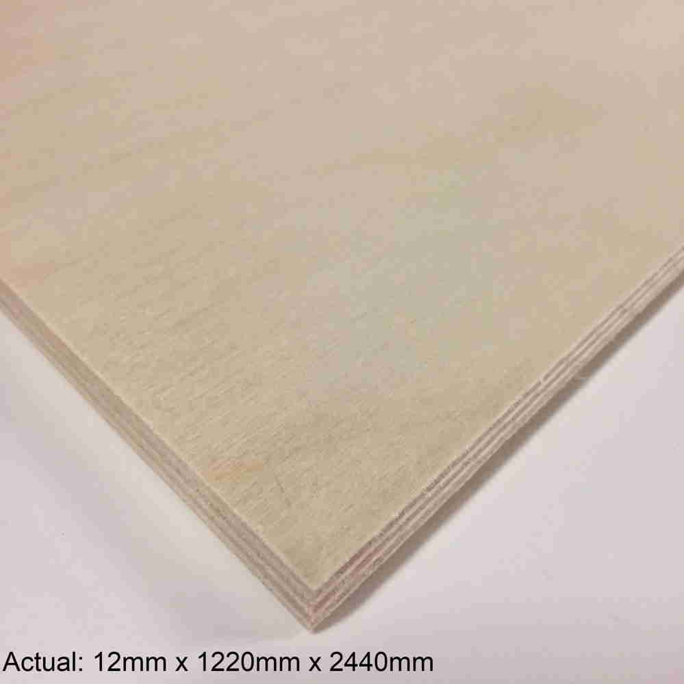 1/2 4 x 8  Baltic Birch(9-Ply) BB/BB Plywood