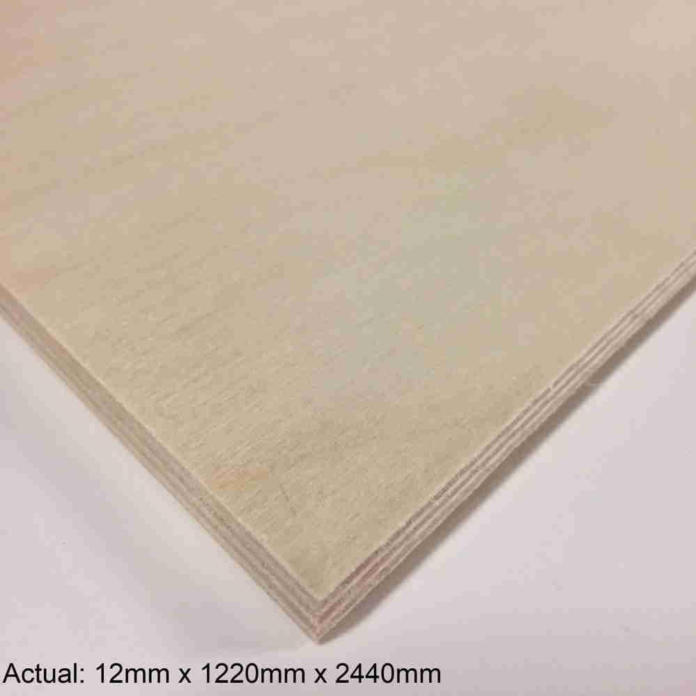 1/2 4 x 8  Baltic Birch(9-Ply) BB/BB Plywood