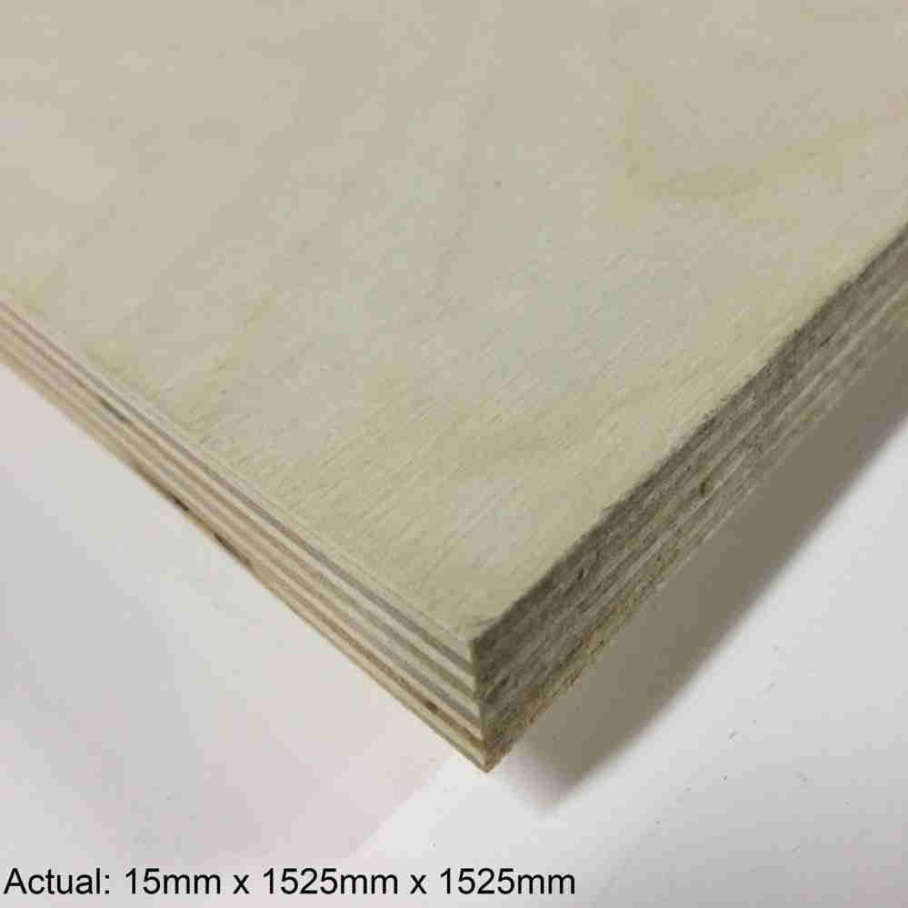 5/8 5 x 5 Baltic Birch (11 ply) BB/BB Plywood