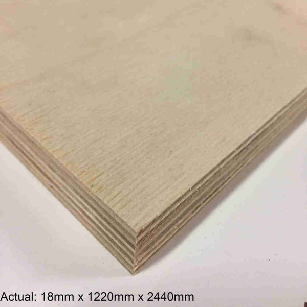3/4 4 x 8 Baltic Birch BB/BB Plywood