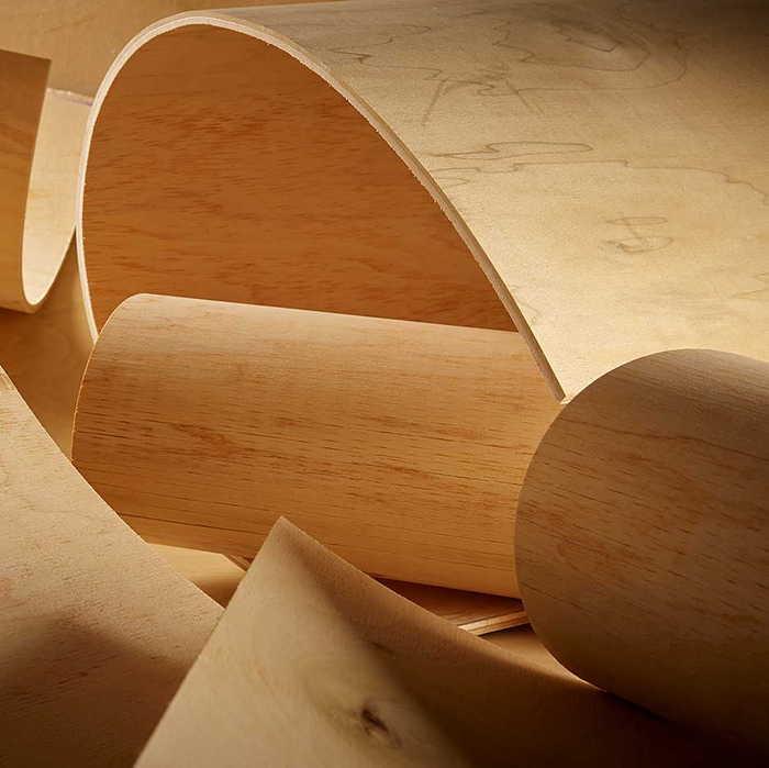 1/8 8 x 4 Bending Poplar Plywood (4' high barrel)