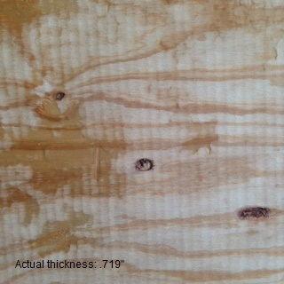 3/4 4 x 8  cdx rated sheathing plywood