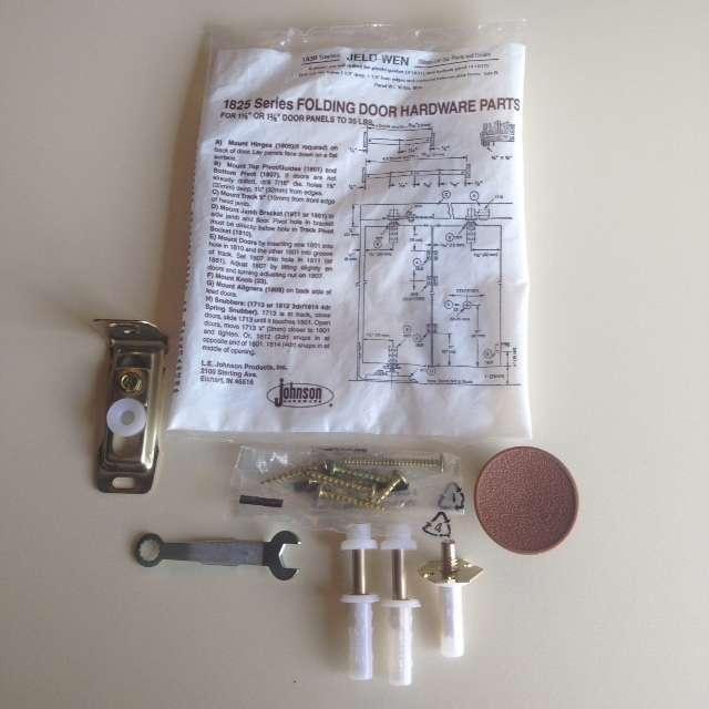 Bifold hardware package