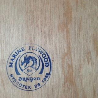 1/8 (4mm) 4 x 8 marine hydrotech Plywood