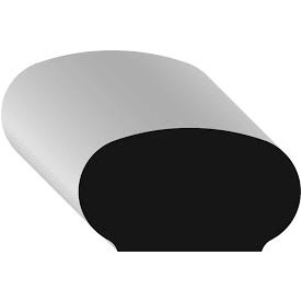 WM 240 1 1/4 x 2 1/4 Pine handrail molding /ft.