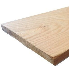Oak Sanded Two Sides (S2S) Straight Line Ripped (SLR1) per Board Ft.