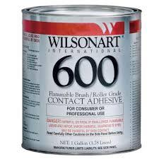 Gallon Wilsonart 600 Contact Cement