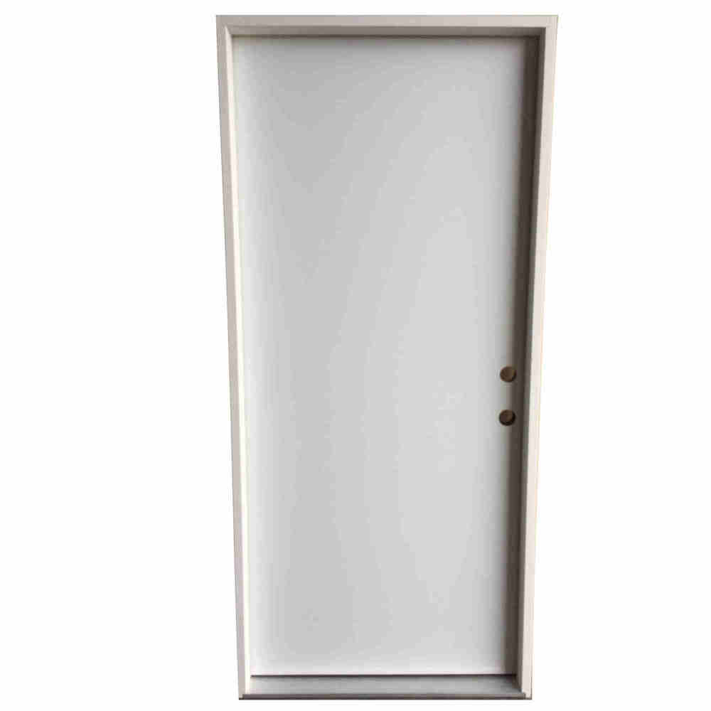 2-8 X 6-8  FLUSH FIBERGLASS S&D LH DOOR