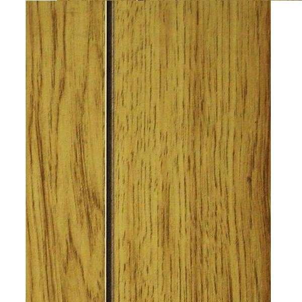 1/8 4 x 8 hardboard Santa Fe Hickory B-grade paneling (127)