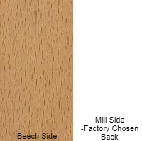 5/32 4 X 8 MDF BEECH / MILL SHOP