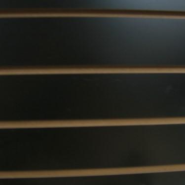 3/4 4 X 8 Black Slatwall MISC