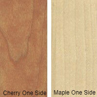 3/4 4 X 8 COMBO CORE V/C MDF CHERRY / MAPLE SHOP