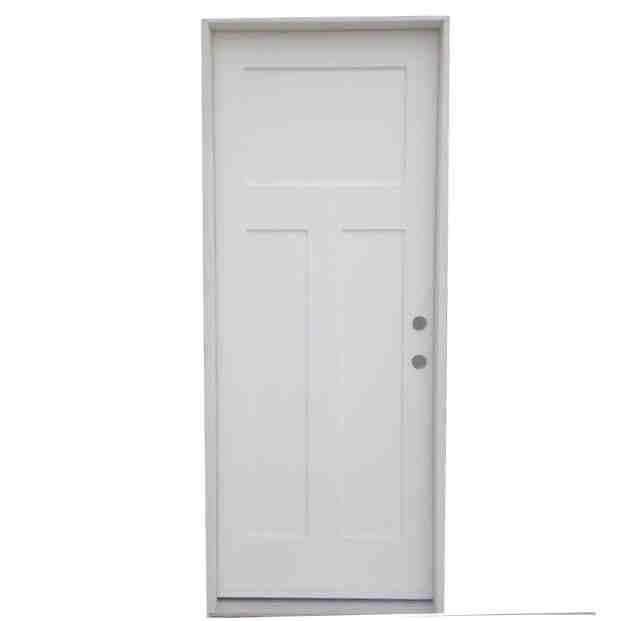 2-8 X 6-8 3 PANEL FIBERGLASS S&D LH DOOR