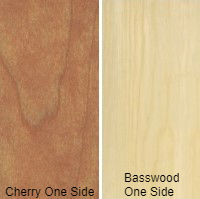1/2 4 X 8 VC CHERRY / BASSWOOD SHOP
