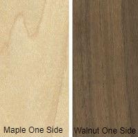1/2 4 X 8 VC WALNUT / MAPLE SHOP