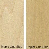 7/16 4 X 8 VC MAPLE / POPLAR SHOP