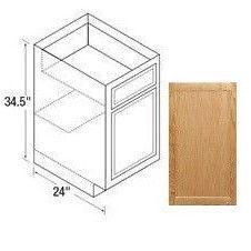 24b base cabinet chadwood oak kitchen kompact toledo plywood co inc