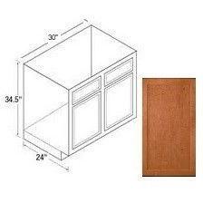 30rbs range sink base cabinet bretwood maple kitchen kompact
