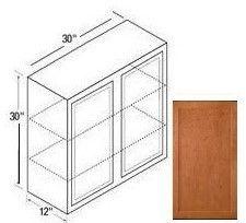 30w wall cabinet bretwood maple kitchen kompact toledo plywood co