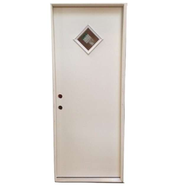 2-8 X 6-8  DIAMOND LITE FIBERGLASS S&D RH DOOR