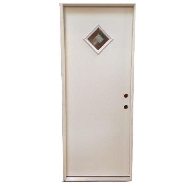 2-8 X 6-8  DIAMOND LITE FIBERGLASS S&D LH DOOR
