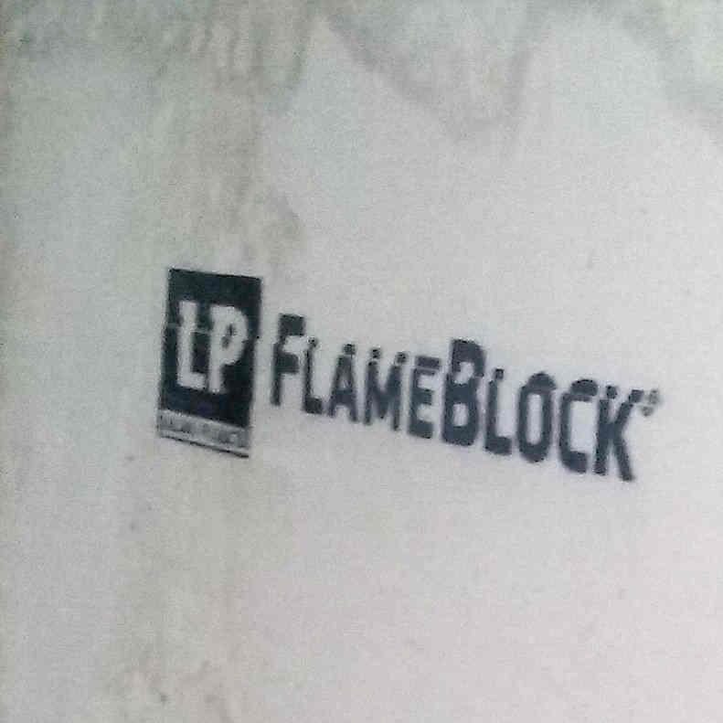 7/16 4 x 8 osb FlameBlock B Grade