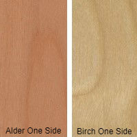 5/8 4 X 8 VC ALDER / BIRCH SHOP KNOTTY ALDER UV BIRCH