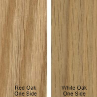 3/4 4 X 8 VC WHITE_OAK / RED_OAK SHOP UV2S