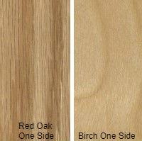 3/4 4 X 8 COMBO CORE V/C MDF RED_OAK / BIRCH SHOP UV BIRCH