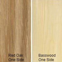 1/2 4 X 8 VC RED_OAK / BASSWOOD SHOP