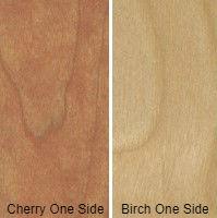 1/2 4 X 8 VC BIRCH / CHERRY SHOP UV BIRCH