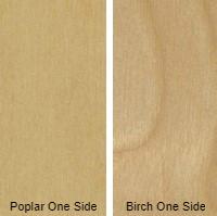 1/4 4 X 8 VC POPLAR / BIRCH SHOP