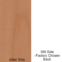 1/4 4 X 8 MDF ALDER / MILL SHOP