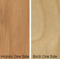 5/8 4 X 8 VC HICKORY / BIRCH SHOP UV BIRCH SIDE
