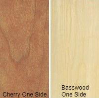 1/2 4 X 8 VC CHERRY / BASSWOOD SHOP