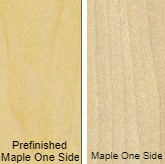 3/4 4 X 8 VC MAPLE / MAPLE SHOP UV 1 SIDE