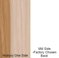 11/16 4 X 8 VC HICKORY / MILL SHOP