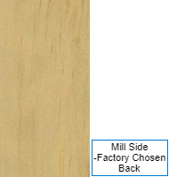 1/4 4 X 8 VC CLEAR WHITE_PINE / MILL SHOP