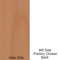 1/4 4 X 8 VC ALDER / MILL SHOP