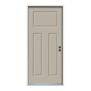 3-0 X 6-8  3 PANEL STEEL S&D LH DOOR