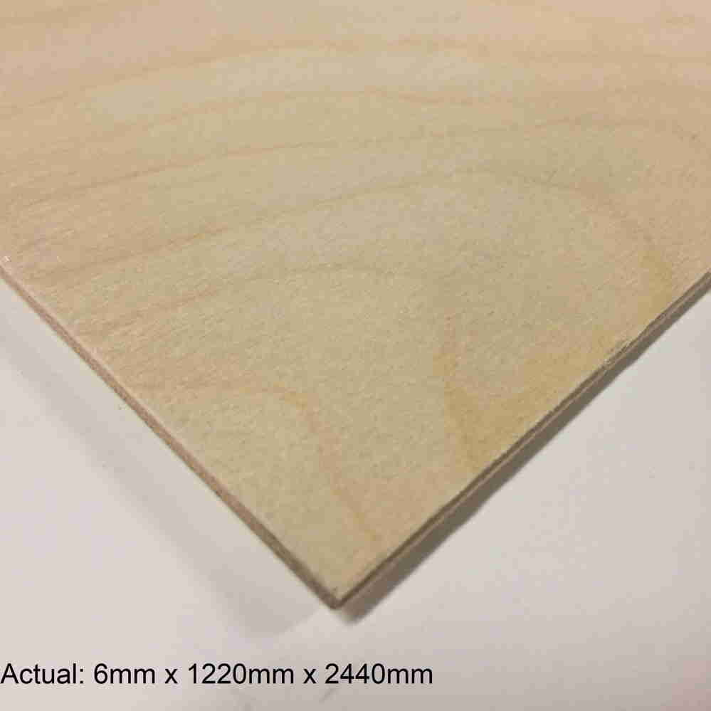 1/4 4 x 8 Baltic Birch No Patch Face  B/BB Plywood