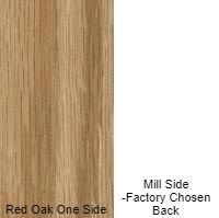 3/4 4 X 8 VC RED_OAK / MILL SHOP