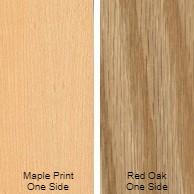3/4 4 X 8 VC RED_OAK / MAPLE PRINT SHOP