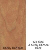 1/4 4 X 8 MDF CHERRY / MILL SHOP