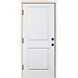 3-0 X 6-8 2 PANEL STEEL S&D RH DOOR
