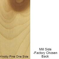 1/4 4 X 8 VC KNOTTY_PINE / MILL