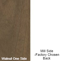 1/4 4 X 8 VC WALNUT / MILL SHOP